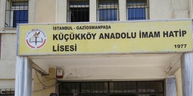 Gaziosmanpaşa Küçükköy İmam Hatip Lisesi öğrencileri hangi okula gidecek?