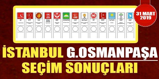 Gaziosmanpaşa seçim sonuçları 2019 | 31 Mart Gaziosmanpaşa yerel seçim sonuçları oy oranları, Gaziosmanpaşa seçim sonuçları 2019 son dakika