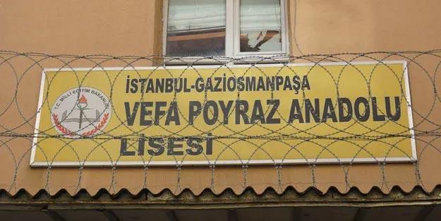 Gaziosmanpaşa Vefa Poyraz Anadolu Lisesi öğrencileri hangi okula gidecek?