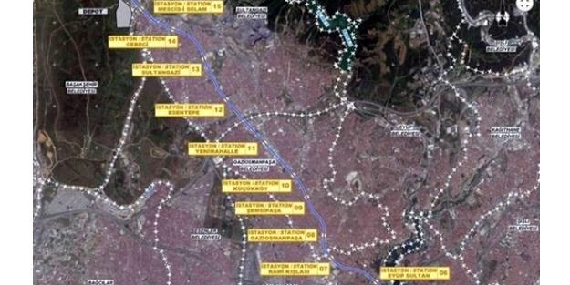 İstanbul Gaziosmanpaşa'ya 3 yeni metro hattı geliyor