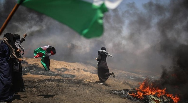 Gazze'de şehit edilen Filistinli sayısı 60'a çıktı