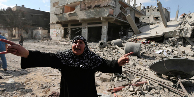 Gazze'de yaşananın adı dram! Tam 20 bin kişinin evi hala kullanılamaz halde