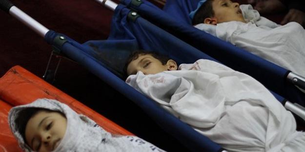 Gazzeli çocukların acı dramı