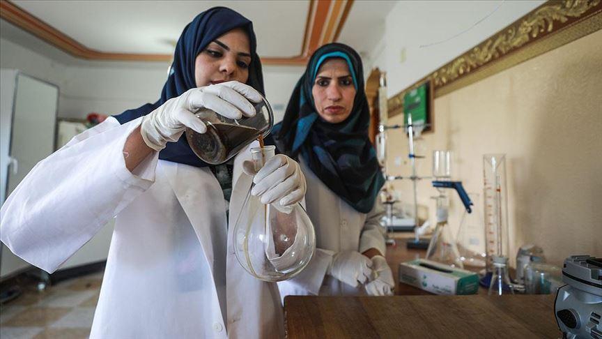 Gazzeli genç kadın üniversite bitirme tezini üretim projesine dönüştürdü