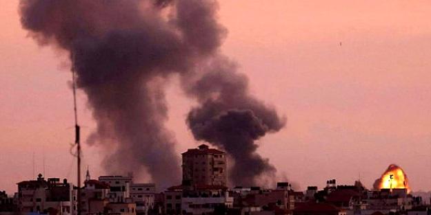 Gazze'ye sahur vakti alçak saldırı!