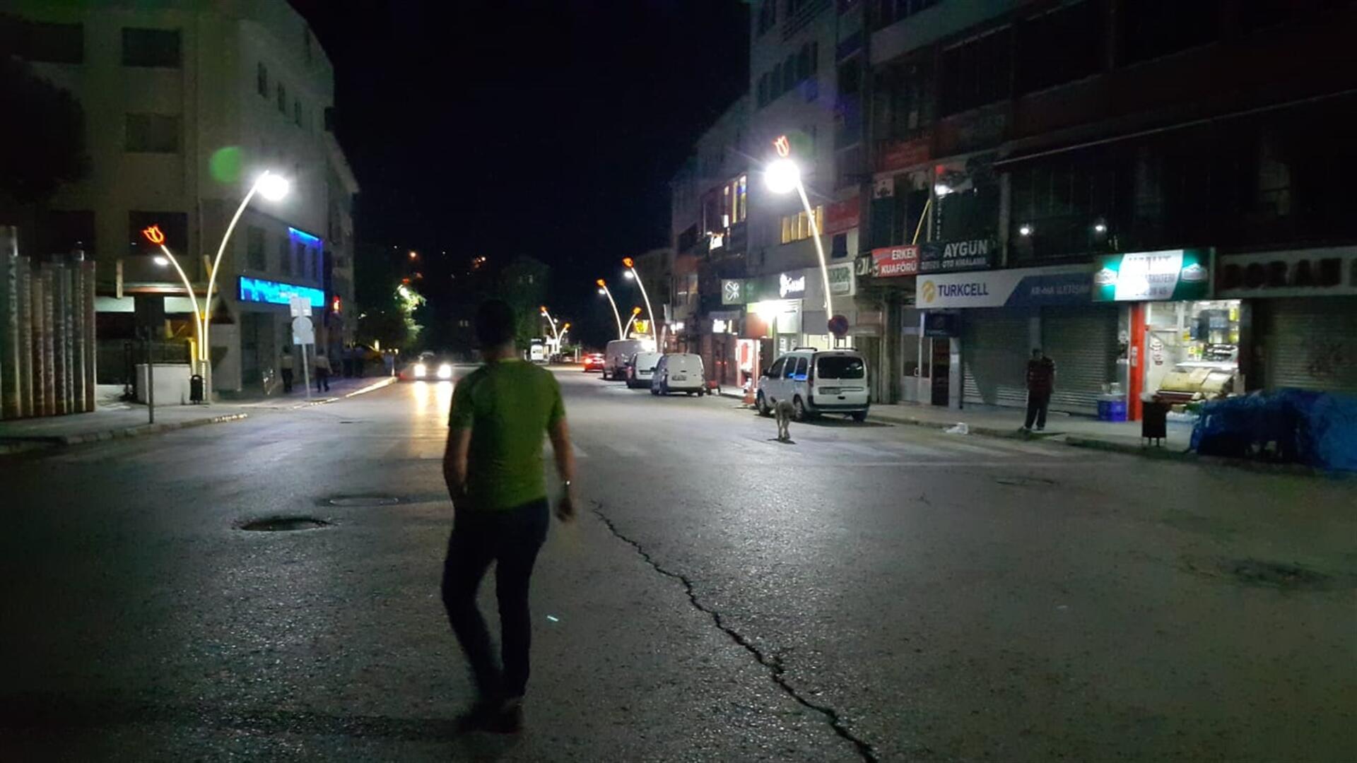Gece yarısı korkutan deprem… Tunceli 4,5 ile sallandı!