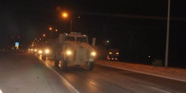 Gece yarısı sınırda askeri hareketlilik