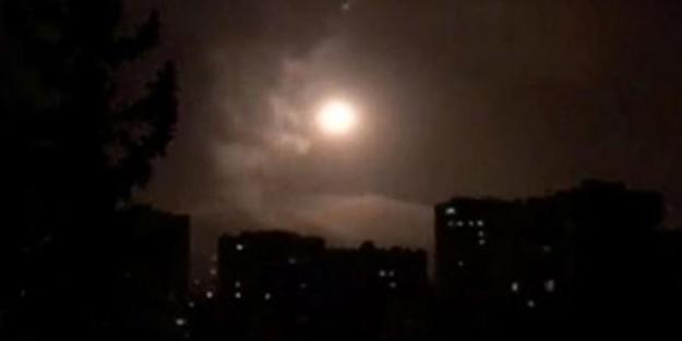 Gece yarısı Suriye'ye yeni saldırı düzenlendi!