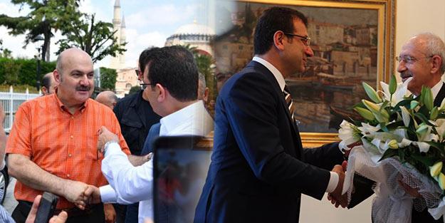 Geçen hafta Sultanahmet'te bu hafta ziyarette! İmamoğlu cuma kılmayı bir haftada bıraktı