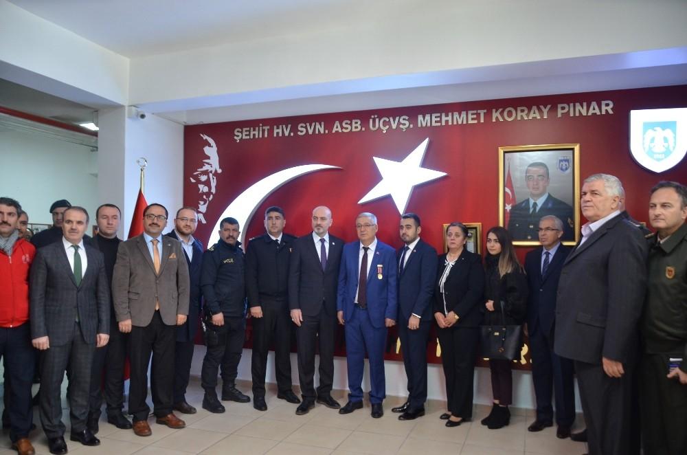 Gemlikli şehit Koray Pınar unutulmadı