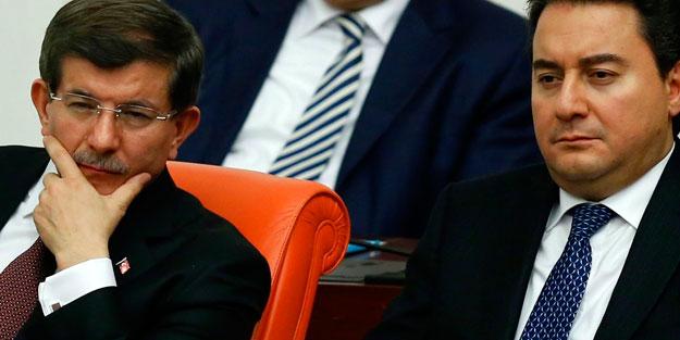 Genar Başkanı açıkladı! Davutoğlu ve Babacan'a kötü haber