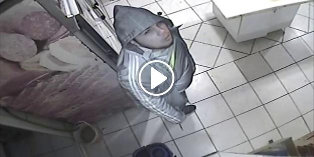 Genç hırsız öyle bir hata yaptı ki!