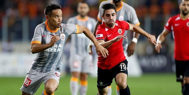 Gençlerbirliği, Galatasaray'dan 1 puanı kaptı!