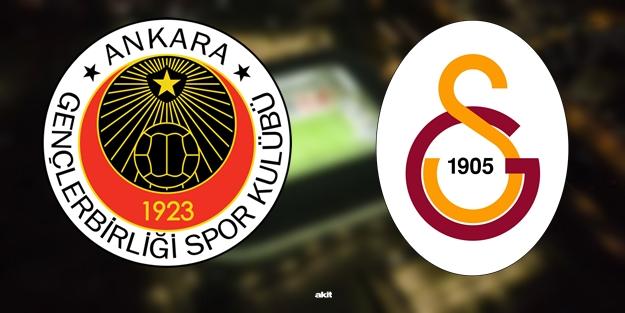 Gençlerbirliği Galatasaray maçı ne zaman saat kaçta hangi kanalda? Süper Lig 7. hafta