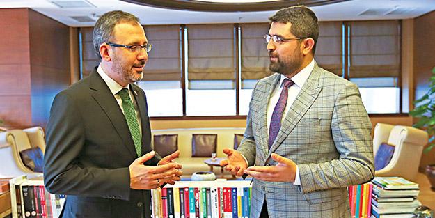 Gençlik ve Spor Bakanı Mehmet Muharrem Kasapoğlu, Yeni Akit'e konuştu: Gençlerden 25 bin 735 proje için başvuru geldi