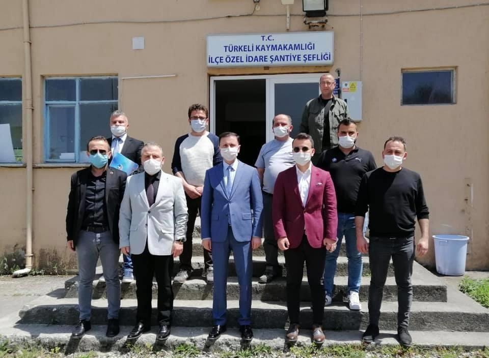 Genel sekreter Çınkıl'ın üçüncü durağı Türkeli ilçesi