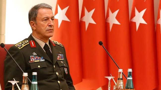 Genelkurmay Başkanı Akar'dan flaş açıklama