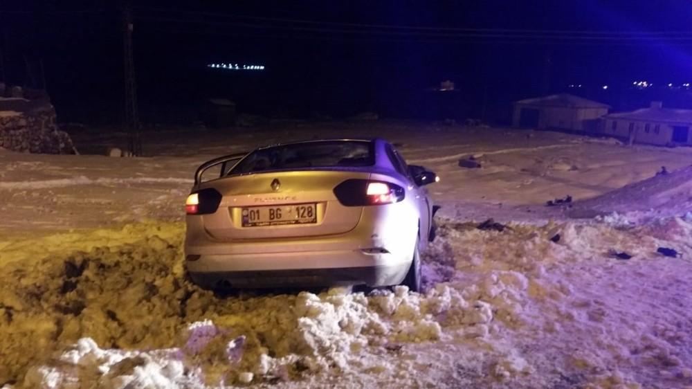 Gercüş'te trafik kazası: 1 yaralı