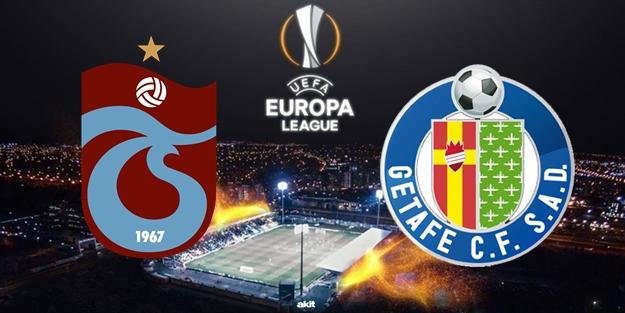 Getafe Trabzonspor UEFA Avrupa Ligi maçı ne zaman saat kaçta hangi kanalda?
