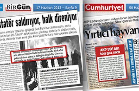 Gezi'ci medyanın yalanları