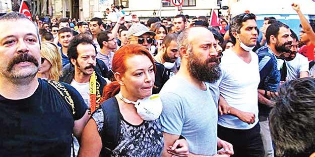 Geziciler ve teröristler kafa kafaya çalıştı