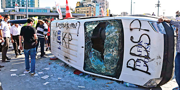 Gezi'de suç var, ceza yok