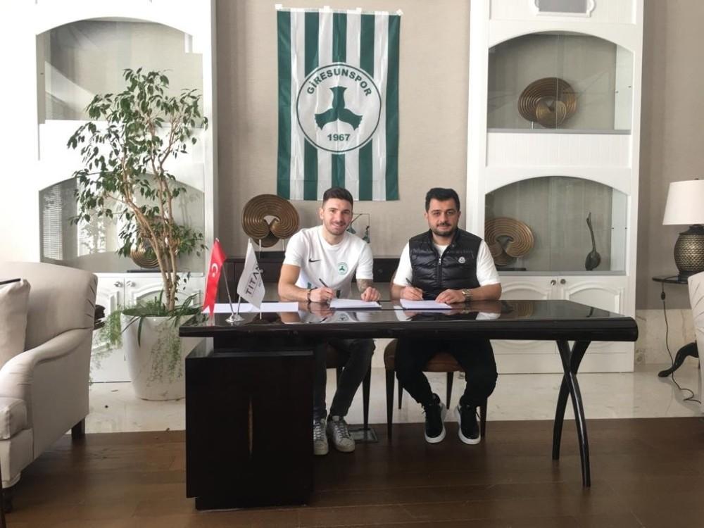 Giresunspor, Marko Milinkovic'i kadrosuna kattı