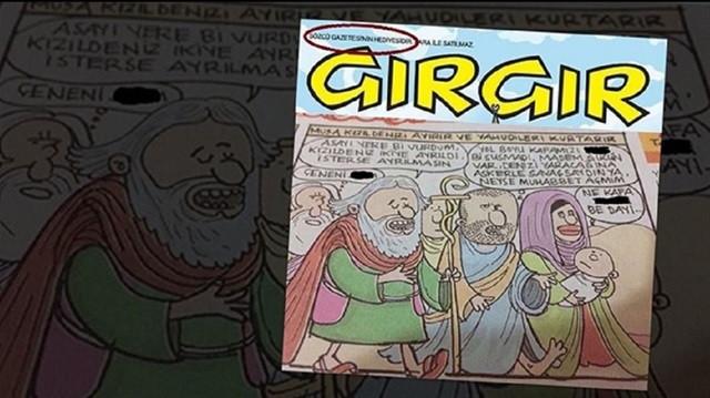 Gırgır'ın karikatürüne soruşturma!
