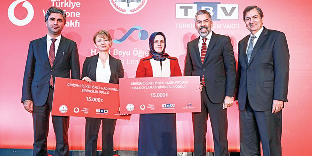 'Girişimcilikte önce kadın' deyip, 50 bin liralık ödül verdiler