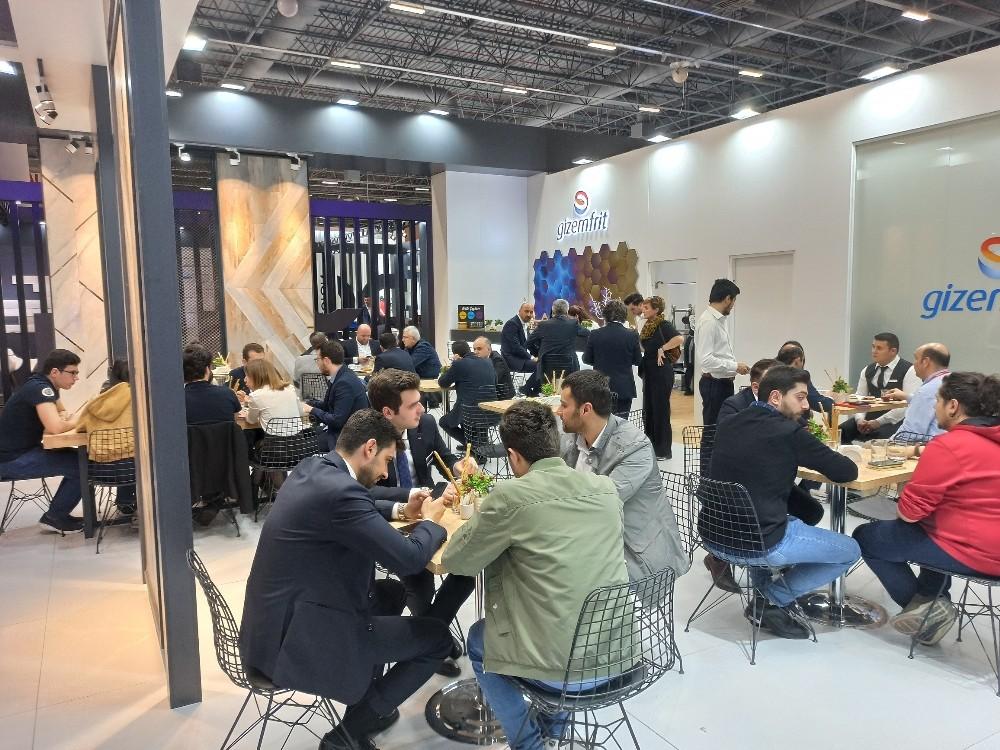 Gizemfrit Unicera'da Seramik sektörüne yönelik çözümlerini tanıttı