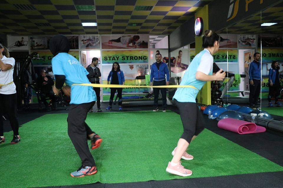 Goalball Kadın Milli Takımı Kayseri'de kamp yapıyor