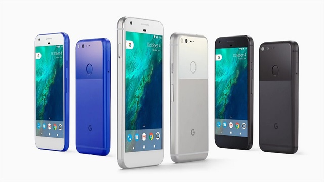 Google'ın ilk akıllı telefonu Pixel