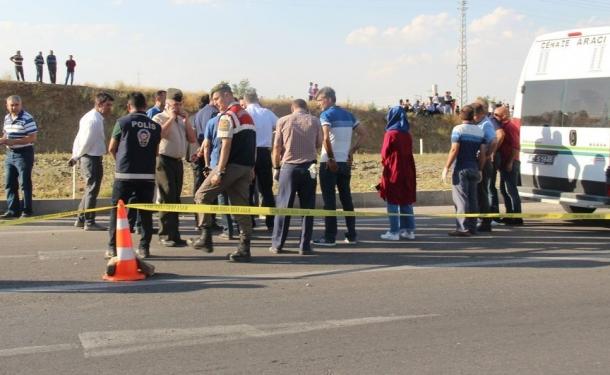Görev başındaki trafik polisi kaza kurbanı oldu