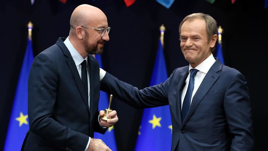 Görevi biten Jean-Claude Juncker ve Tusk enkaz devretti