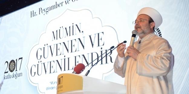 Görmez: 15 Temmuz'da en büyük zararı dini mübini İslam gördü
