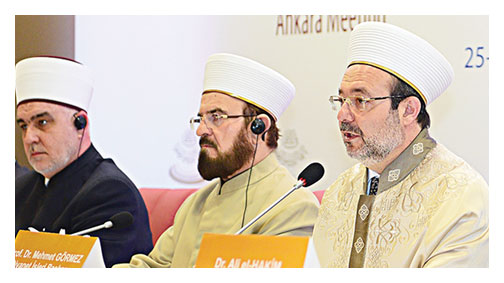 Görmez: İslamofobi endüstriye dönüştü