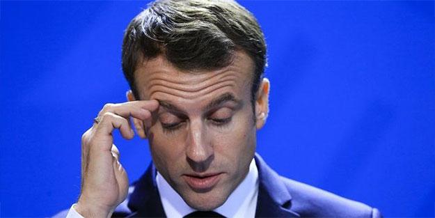 Görülmemiş tehdit! 'Seni evinden almaya geliyoruz Macron'