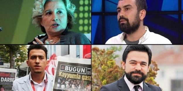 Gözaltı kararı çıkarılan hain gazeteciler