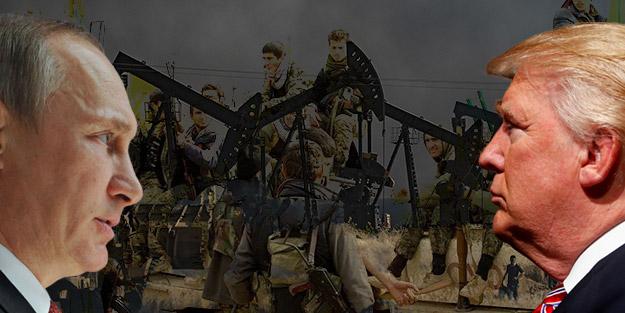 Gözünü ABD'nin petrol sahalarına diken Rusya'yı YPG/PKK engelledi