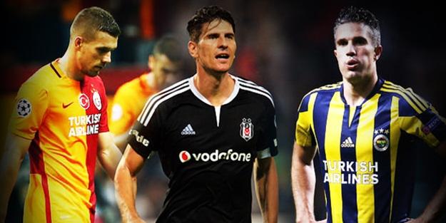 G.Saray, Beşiktaş ve F.Bahçe bunu da başardı!