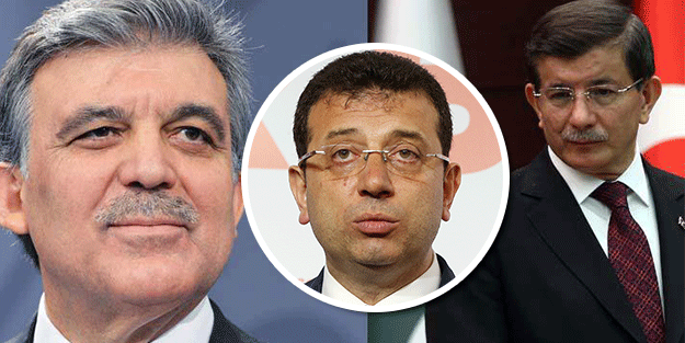 Gül ve Davutoğlu, İmamoğlu'nu mu destekliyor?