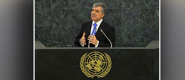 Gül: Güçlü ve etkin BM'ye ihtiyaç var