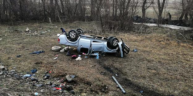 Gümüşhane'de feci kaza! Sürücü hayatını kaybetti, yaralıların durumu kritik