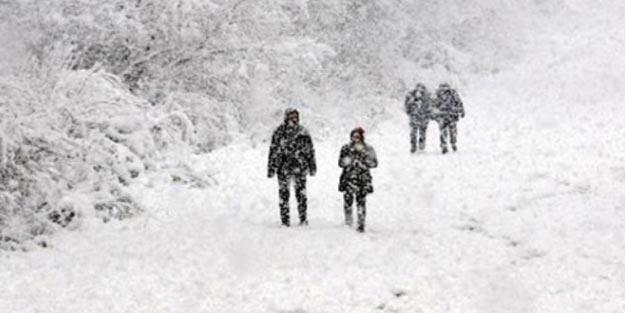 Gümüşhane'de yarın 13 Şubat kar tatili mi? Okullar tatil mi?