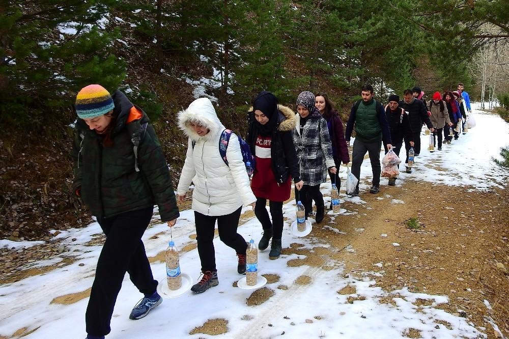 Gümüşhaneli dağcılar Sarıkamış Şehitleri için yürüdü