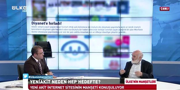 Gündem belirleyen Yeniakit.com.tr Ülke TV'de konuşuldu