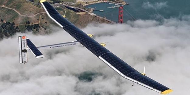 Güneş enerjili uçak, okyanusu böyle geçti
