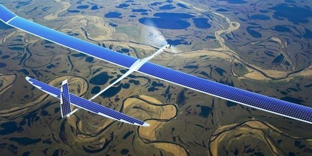 Güneş enerjisiyle çalışan devasa insansız hava aracı kaza yaptı