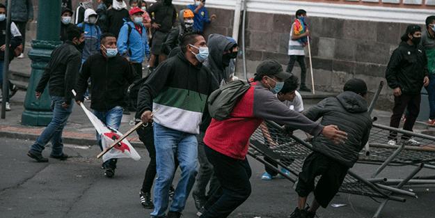 Güney Amerika karıştı! Protestolar devam ediyor