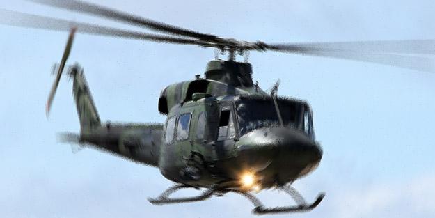 Askerlerin bulunduğu helikopter kayboldu